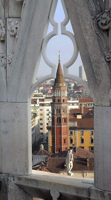 View of Milan, Italy